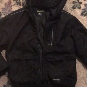 Men's M Walls black weather resistant jacket EUC